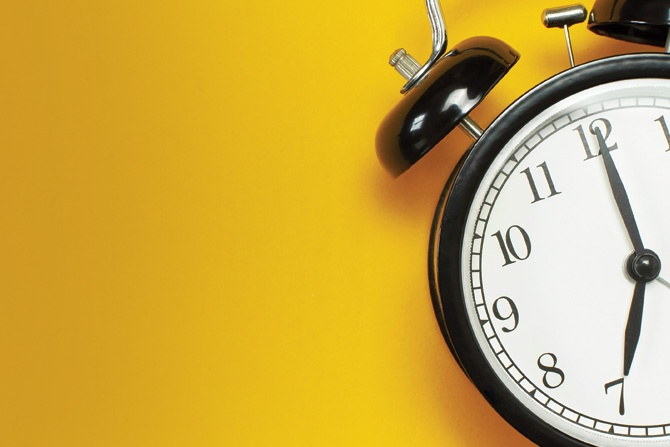 Washington Update Time's-up-clock
